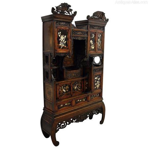 Japanese Shodona Cabinet  Antiques Atlas