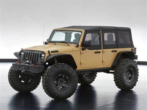2013 Jeep Wrangler Sand Trooper Ii Concept 4x4 Offroad