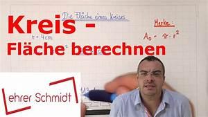 Youtube Verdienst Berechnen : kreis fl che berechnen geometrie mathematik youtube ~ Themetempest.com Abrechnung