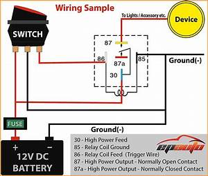 5 Pin Wiring Diagram Diagrams And Relay