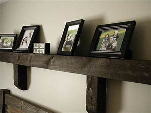 Mantel wall shelf fireplace reclaimed by