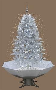 Weihnachtsbaum Mit Led : weihnachtsbaum schneefall mit led licht musik 2 m weiss ebay ~ Frokenaadalensverden.com Haus und Dekorationen