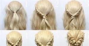Einfache Hochsteckfrisuren Dünne Haare : die 25 besten ideen zu hochsteckfrisuren mittellanges haar auf pinterest steckfrisuren ~ Frokenaadalensverden.com Haus und Dekorationen