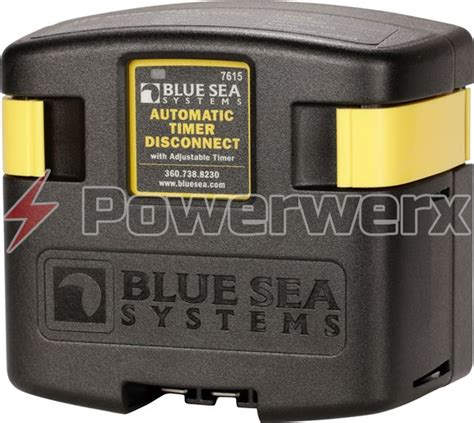 Blue Sea Timer With Low Voltage Disconnect Battery