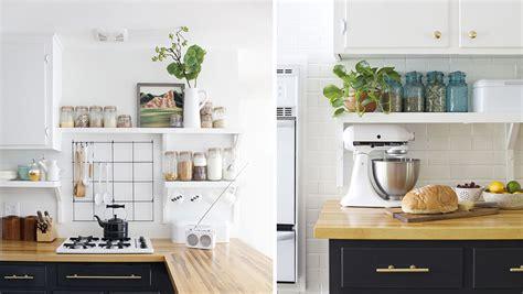 etageres pour cuisine comment organiser des étagères ouvertes dans la cuisine