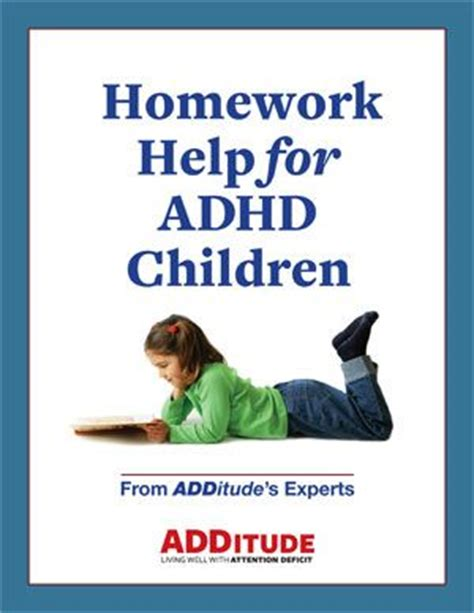 Homework Help For Children With Learning Disabilities by Adhd Adhd Children And Homework On