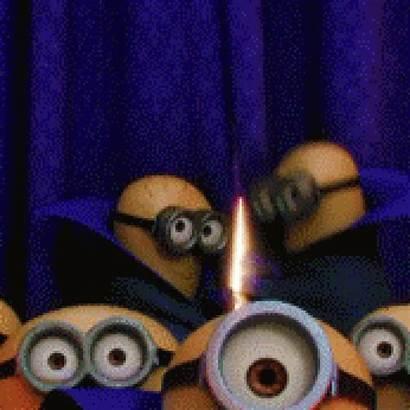 Happy Birthday Animated Minions Minion Speakgif Birthda