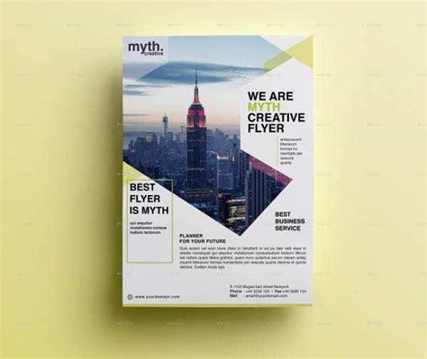 double sided flyer templates word psd ai eps