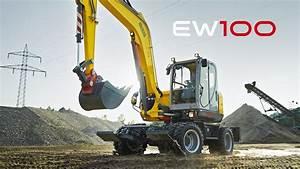 Wacker Neuson Mobilbagger Ew100