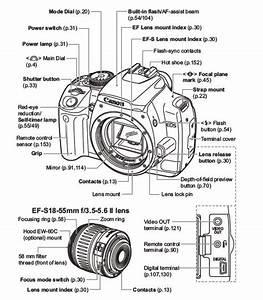 parts of a digital slr camera google search With camera diagrams