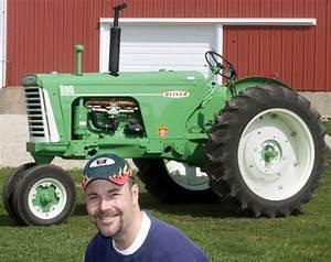 Dysart Man U2019s Restored 1959 Oliver Tractor In Calendar Of