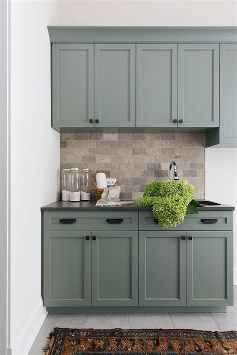 cabinet color is sherwin williams retreat cabinet color is