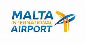 Ama Airfield Lighting Malta Luqa Uluslararasi Havalimani Bir Küçük Adalar ülkesi