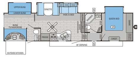 Jayco Fifth Wheel Cer Floor Plans by 2015 Eagle Fifth Wheels Floorplans Prices Jayco Inc