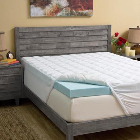 hotel mattress topper grande hotel collection 4 inch gel memory foam and 1 5