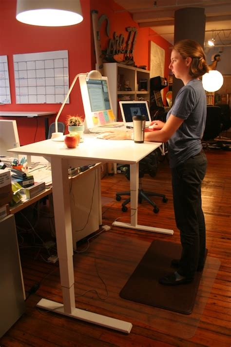 Humanscale Standing Desk by Standing Desk Shootout Humanscale Float Table Core77