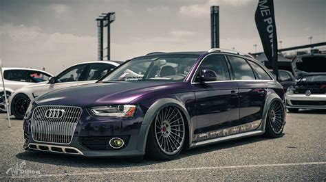 Stanced Cars 1920x1080 Wallpaper by Wallpaper White Black Canon Audi Sports Car Stance