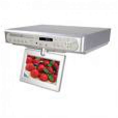 kitchen cabinet tv dvd cd player radio coby 7 tft the cabinet dvd player tv and radio 9903
