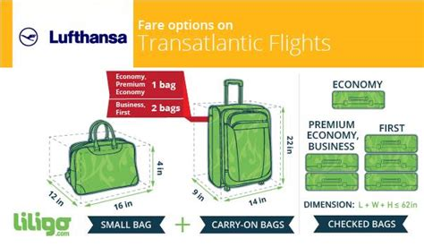 luggage  lufthansa prices weights  dimensions