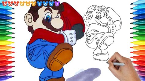 How To Draw Super Mario Odyssey Mario 167 Drawing