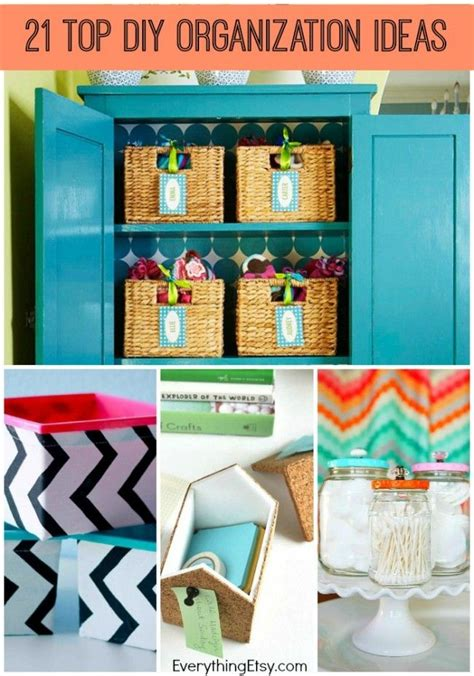 21 top diy home organization ideas a great way to save