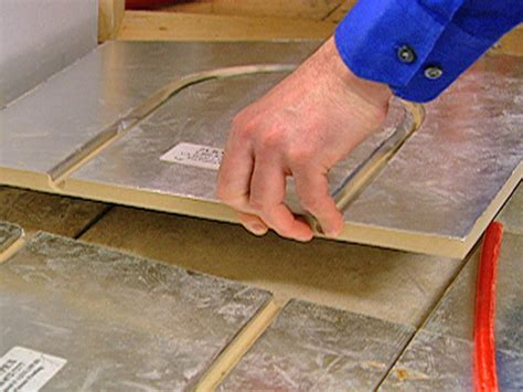 Pex Radiant Floor Heating Panels by How To Install A Radiant Heat System Underneath Flooring