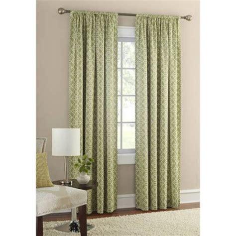 Walmart Mainstays Room Darkening Curtains by Mainstays Layered Trellis Room Darkening Curtain Panel