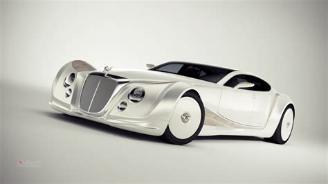 Luxurius Car : Bentley Luxury Concept Is A Blast From The Past