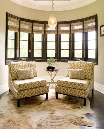 Chairs Upholstered In Imperial Trellis Fabric