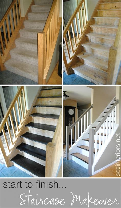 Changing Carpet Stairs To Wood carpet to wood stairs diy