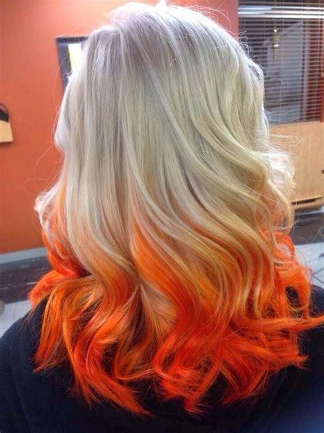 Blonde And Orange Hair In 2019 Beautiful Hair Color