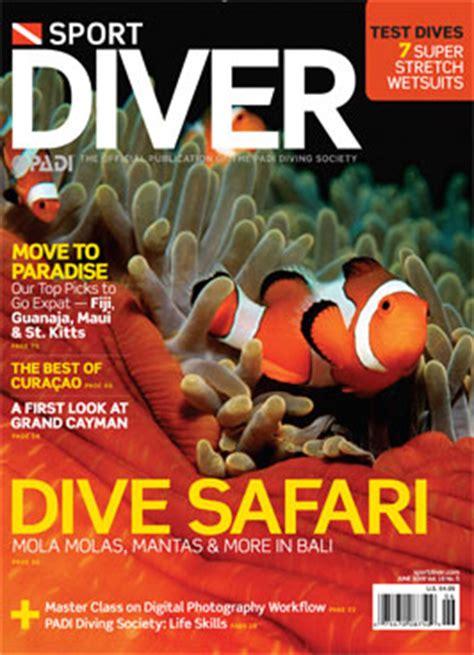 Dive Magazine Bali Dive Safari Sport Diver Magazine Dive Happy
