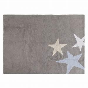 Teppich Grau Blau : teppich f r kinderzimmer sterne grau blau meine kleine liebe ~ Indierocktalk.com Haus und Dekorationen
