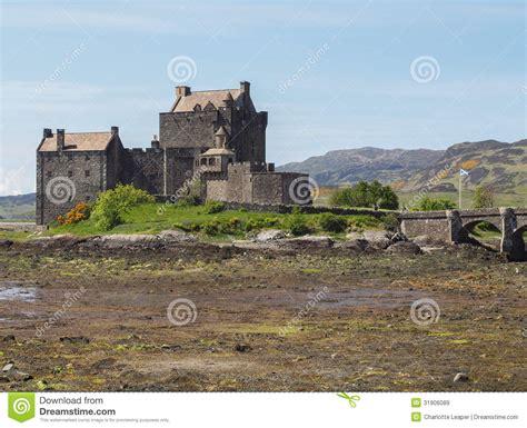 eilean donan castle scotland royalty free stock images