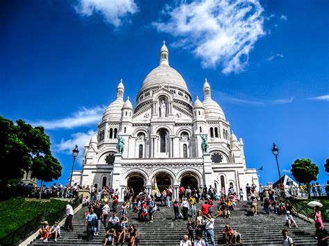 Sacre Coeur | Paris, France | stepping into church, one at