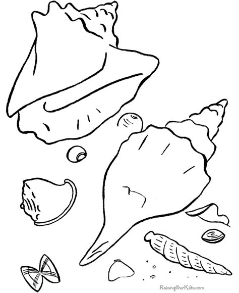 beach coloring pages    print