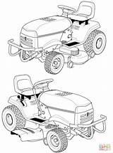 Lawn Mower Coloring Husqvarna Riding Drawing Traktor Pages Ausmalbilder Tractor Kleurplaat Printable Malvorlage Trekker Holland Trecker Ausmalen Zum Malvorlagen Template sketch template