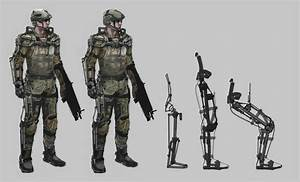 Early Call of Duty: Advanced Warfare Concept Art Tells The ...