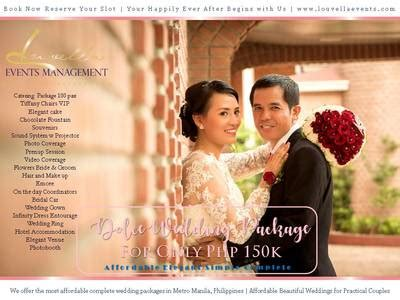 dolce wedding package  affordable wedding package
