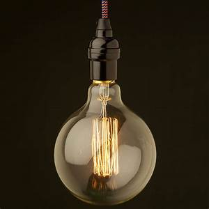 Pendant lighting bulbs : Giant light bulb ceiling species for a perfect