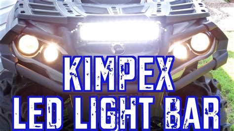 outlander xt  trail build kimpex  led