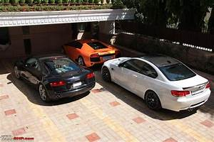 Audi Garage : audi r8 with lamborghini and bmw indian cars autocar india forum ~ Gottalentnigeria.com Avis de Voitures