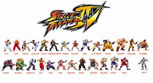 Can You See These Street Fighter Characters