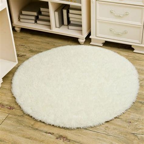 Tapis Shaggy Blanc Rond by Online Get Cheap Tapis Rond Aliexpress Com Alibaba Group