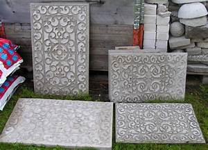 Betonplatten Selber Gießen : ber ideen zu betonplatten auf pinterest ~ Lizthompson.info Haus und Dekorationen