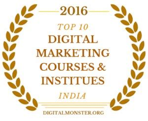 Best Digital Marketing Classes 2016 by Top 10 Digital Marketing Courses In India Digital
