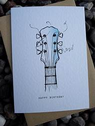 Easy Birthday Card Drawings