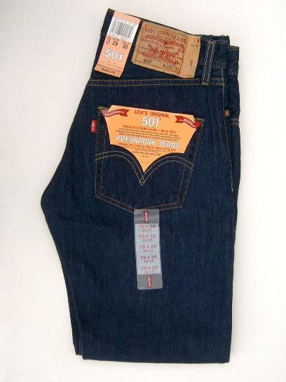 Levis 501 Jeans The Original  American Jeans Mens