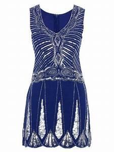 Blue Great Gatsby Dress | My Style | Pinterest