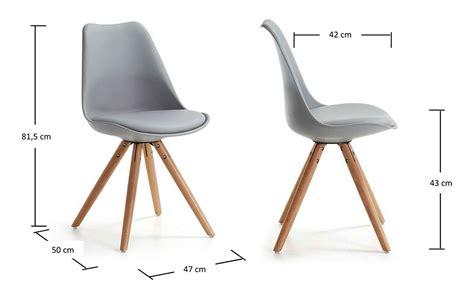 pied de chaise en bois chaise achat chaise coque design grise pieds bois